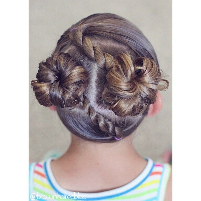 """Here's a fun style for summer :). Diagonal rope twists into messy buns. ☀️☀️"" Photo taken by @brownhairedbliss on Instagram, pinned via the InstaPin iOS App! http://www.instapinapp.com (06/08/2015)"