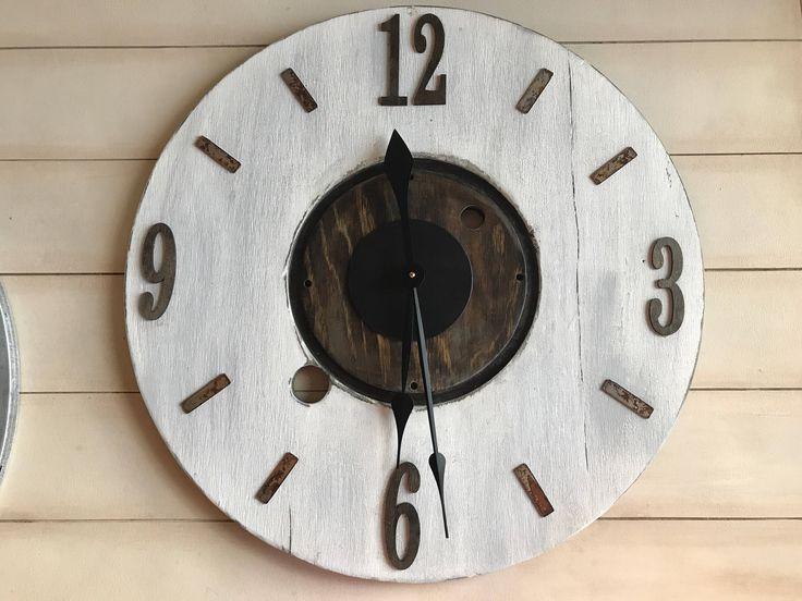 Top 25+ Best Farmhouse Wall Clocks Ideas On Pinterest