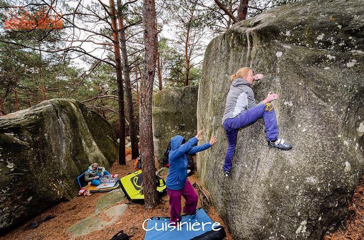 Bouldern in Bleau  . #fontainebleau #bouldering #fsthltn #bleau
