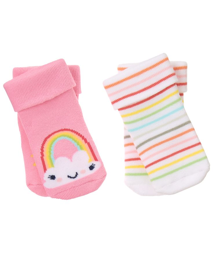 Rainbow Socks 2-Pack