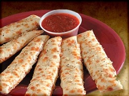 Cheesy Ranch Stix from Pizza Ranch