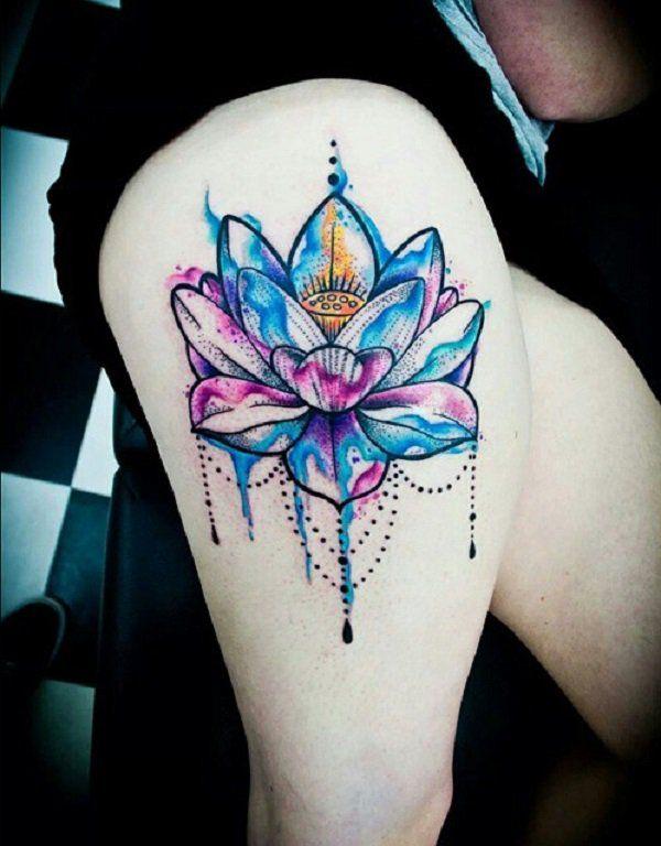 70 elegant lotus tattoo designs lotus tattoo design lotus tattoo and tattoo designs. Black Bedroom Furniture Sets. Home Design Ideas