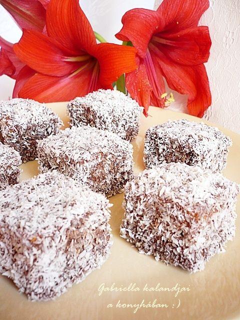 Gabriella kalandjai a konyhában :): Kókusz kocka - mézes tésztából, Anyukám receptje s...