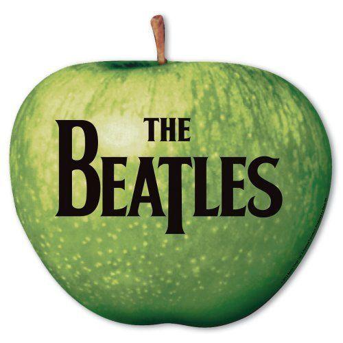The Beatles Official Rubber Car Magnet Drum Head Fridge John Paul George
