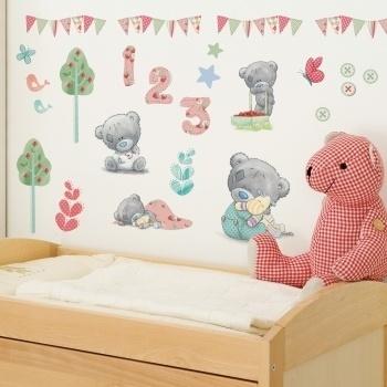 Tatty Teddy decal.Teddy Wall, Kids Wall, Kids Room, Tiny Tatty, Tatty Teddy'S, Baby Room Decor, Wall Stickers, Nurseries Ideas, Bedrooms Ideas