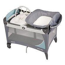 Graco Pack 'N Play Travel Play Yard with Newborn Napper Station LX - Bermuda