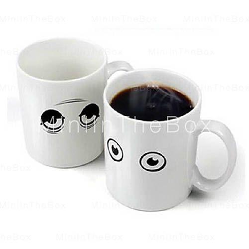 ¡Que bonita taza! Cuando le pones el té calientito por la mañana, abre los ojos! :) [EUR € 11.95]