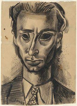 Albert Tucker Self portrait 1939