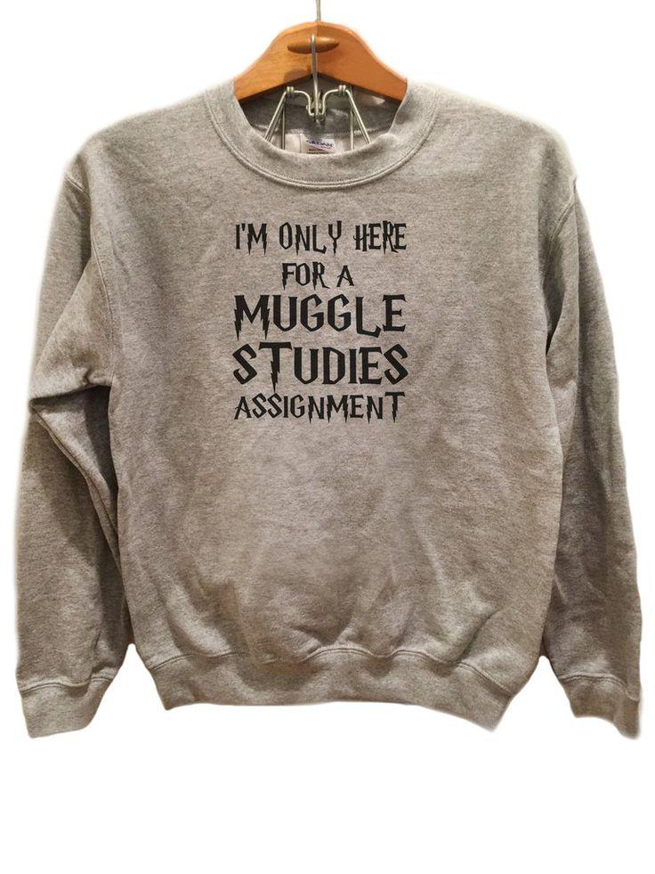 Muggle Studies - Sweater