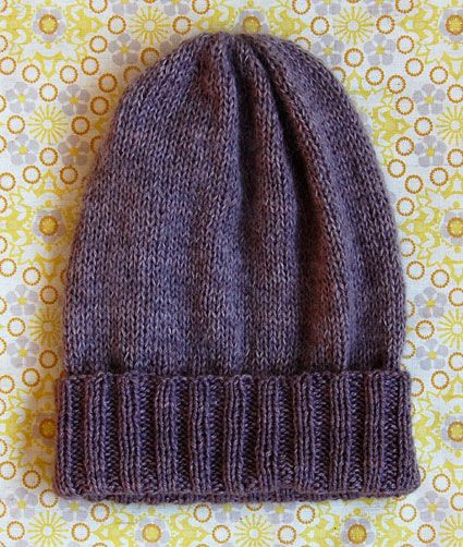 Simple Pleasures Hat - the purl bee