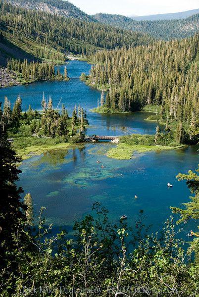 Twin Lakes at Mammoth, CA.
