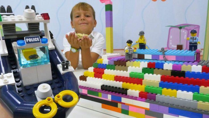 Лего (Lego) — конструктор: Селим в лего-городе! Ищем кристалл. Игры для ...