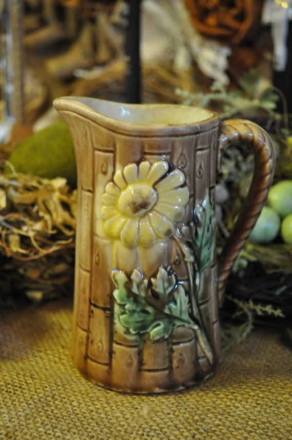 Pictures Of Pottery Barn Bedrooms: Majolica Pitcher, Over 100 Pc. In Our Shop Starting At 18