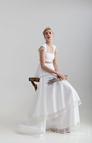 For the absolute romantic bride! Wedding dress by @Ioanna Kourbela