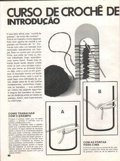 Mãos de Axé da Foroji: Crochet de Grampo PASSO A PASSO