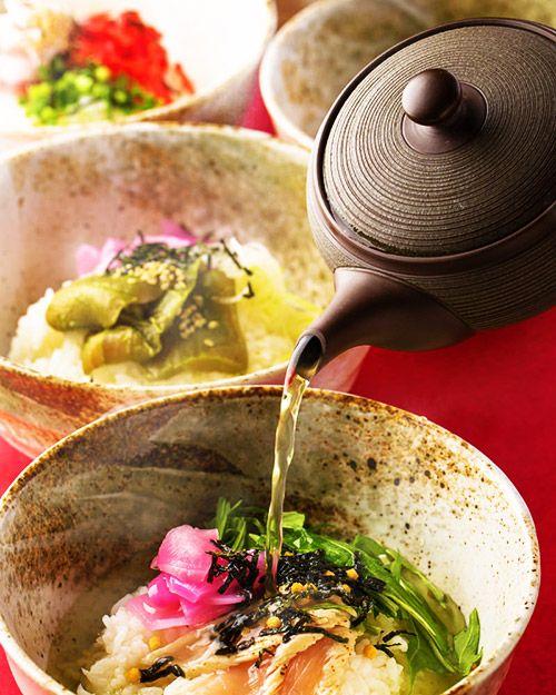 Hot Tea Poured on Rice - Ochazuke