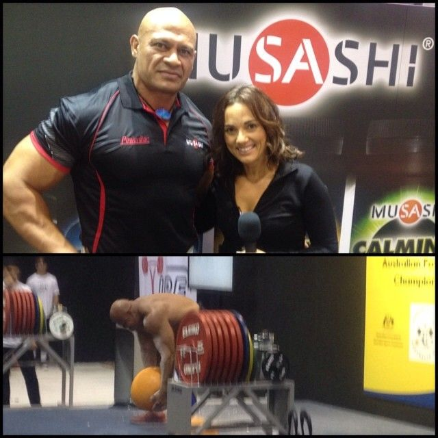 Interviewed Derek Boyer on the weekend at The Australian Fitness and Health Expo