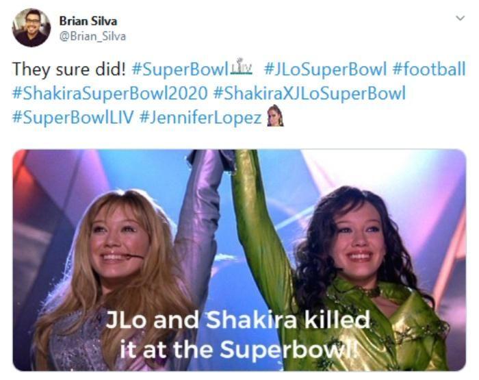 Jennifer Lopez Super Bowl Halftime Show 2020 Memes Jennifer Lopez Super Bowl Memes