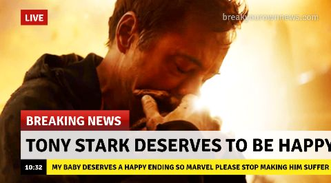 SERIOUSLY MARVEL LEAVE HIM ALONE