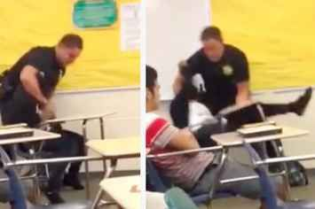 U.S. Opens Civil Rights Investigation Into Officer Caught On Video Throwing High School Student