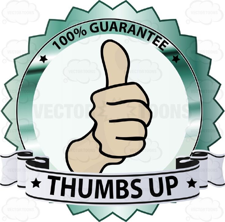 Thumbs Up Sign In Center Of Green Metallic Badge With 100 Percent Guarantee In Border And 'Thumbs Up' on Blue Ribbon Scroll #agreement #approval #badge #commitment #fine #firstclass #fist #great #guarantee #handgesture #hitchhiker #like #medal #movie #obligation #ok #okay #pact #PDF #pin #promise #reflective #ribbon #shield #shiny #signal #superb #superior #vectorgraphics #vectors #vectortoons #vectortoons.com #warranty #word
