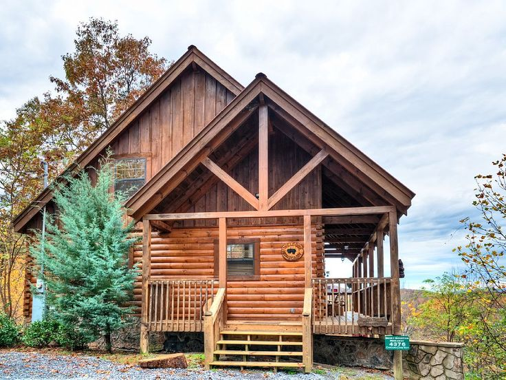 28 best cabins images on pinterest vacation rentals for Tennessee winter cabins