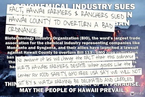Groups like GMO FREE USA, Babes against Biotech, Center for Food Safety have forced them to fight.