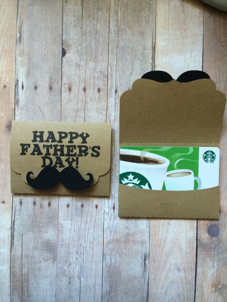 A personal favorite from my Etsy shop https://www.etsy.com/listing/289672679/fathers-day-gift-card-holder-dads-gift