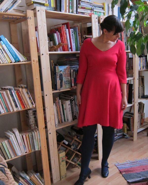 robe n°115 du Burda d'août 2012.