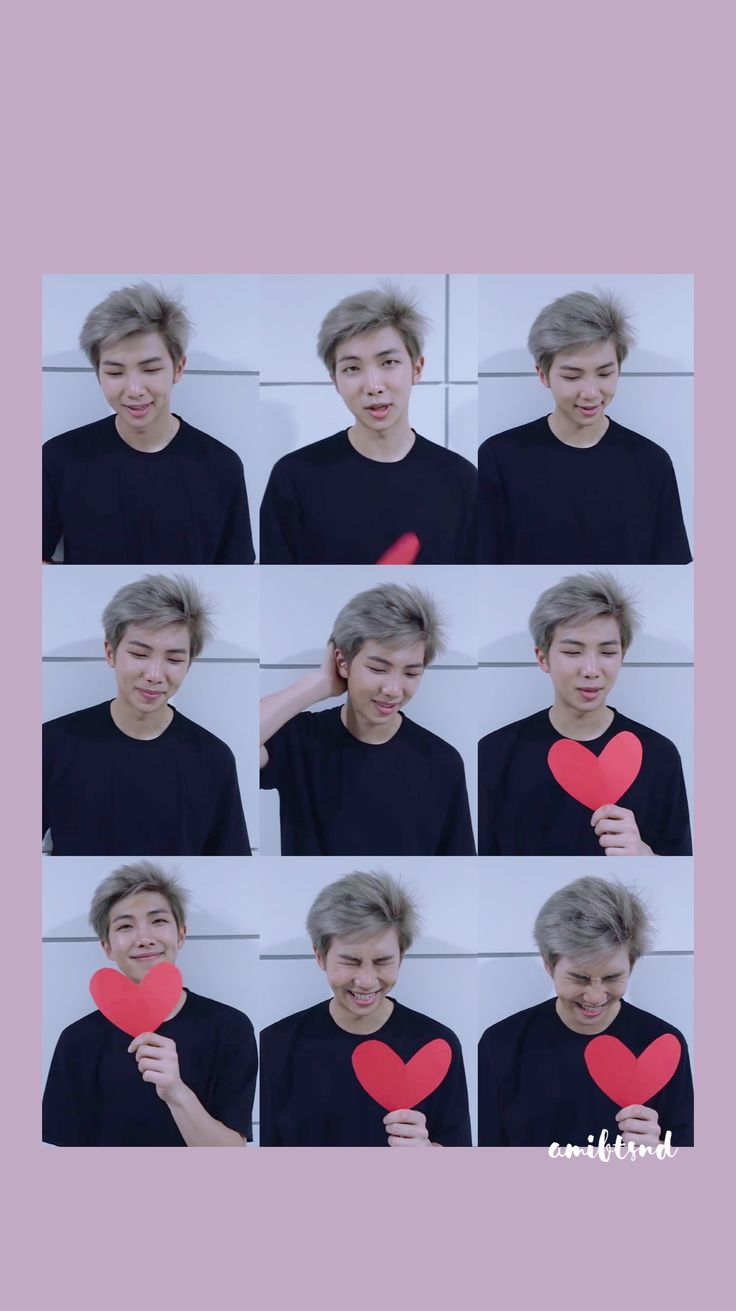 BTS WALLPAPER KIMNAMJOON