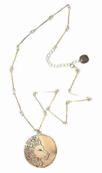 Jes Maharry Lion Necklace