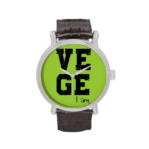 Vege i'm wristwatches