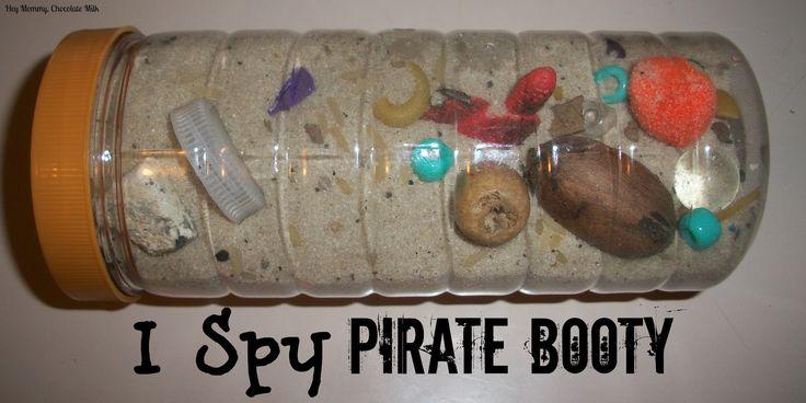 I Spy Pirate Booty