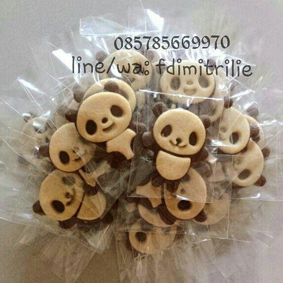 Cute panda cookies as a gift/souvenir