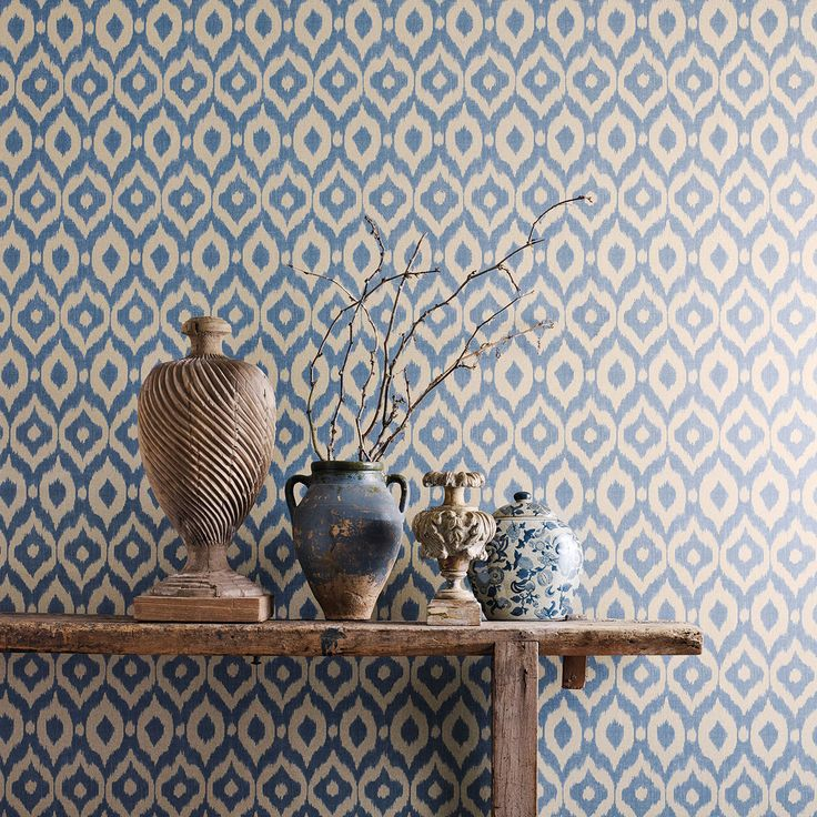 Sanderson - Traditional to contemporary, high quality designer fabrics and wallpapers | Products | British/UK Fabric and Wallpapers | Surin (DSOH215445) | Sojourn Wallpapers