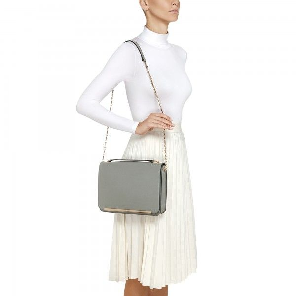 Coccinelle Shoulder bag in saffiano leather - Coccinelle Bags