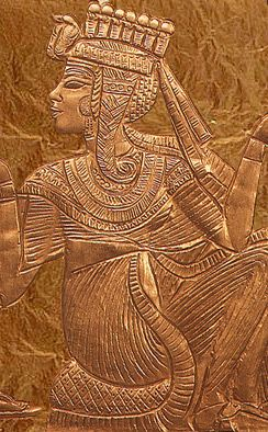 """There is little known about Ankhesenamun (meaning """"She lives through Amun"""" or """"Living through Amun"""")...."""