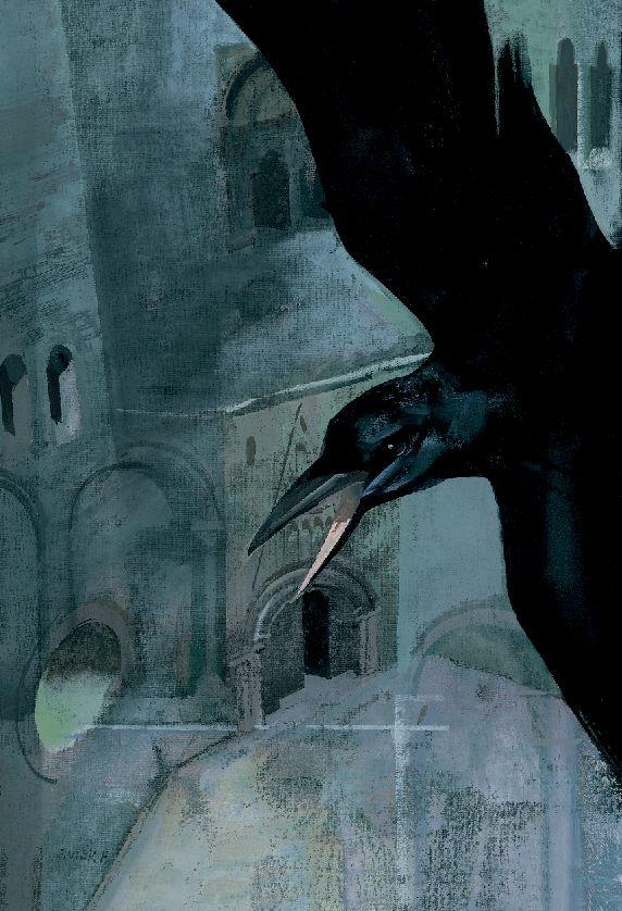 Ferenc Pinter - Cover con corvo