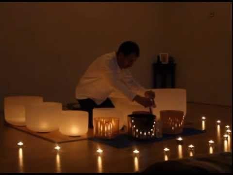 Audición de cuencos de cuarzo, alquimicos y tibetanos. (Sala Samyama Yoga)