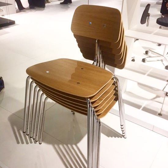 4 leg Kevi chair from Engelbrechts available at Interstudio