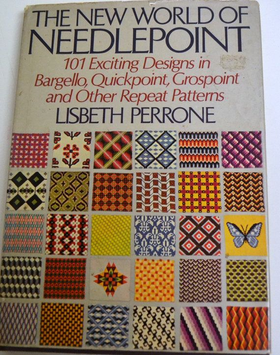Vintage Needlepoint Pattern Book NewWorld of by Patternhaus