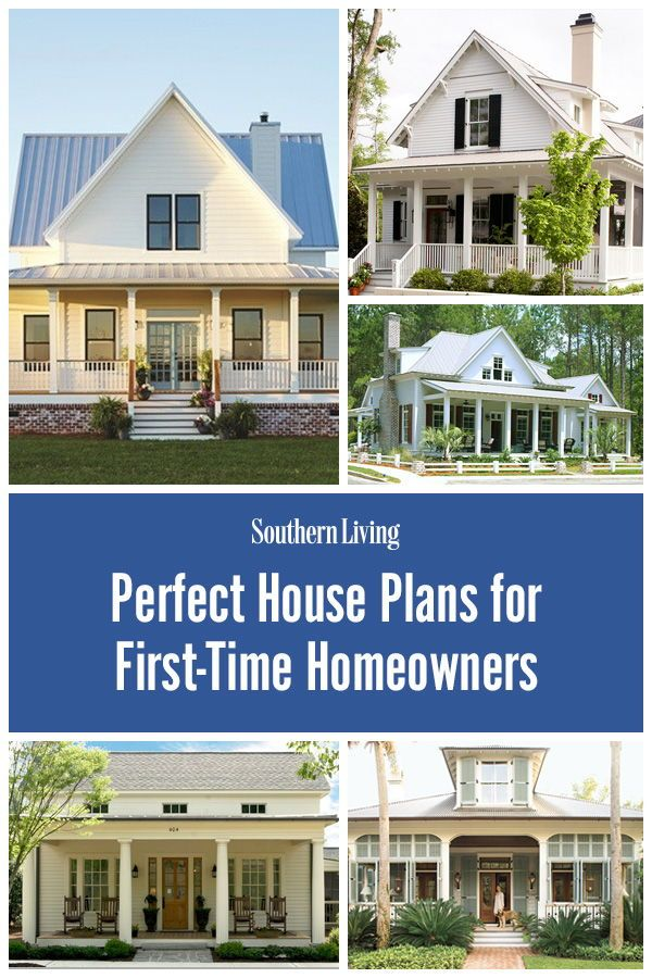 17 Perfect House Plans For First Time Homeowners Porch House Plans Southern Living House Plans House Plans