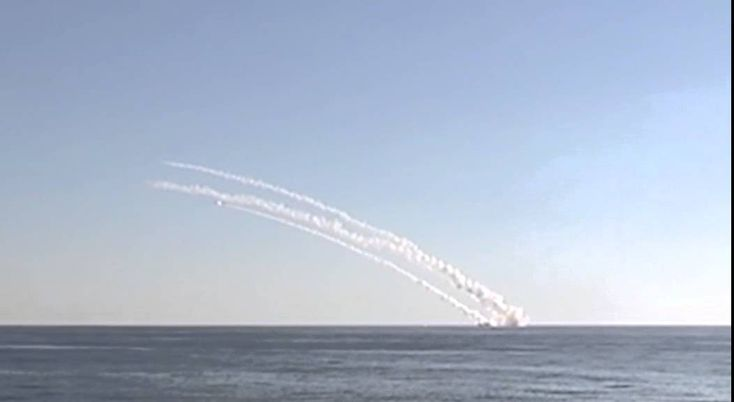 Massive launch of the Kalibr sea-based missiles was effectuated by the Rostov-on-Don submarine. It resulted in elimination of two important ISIS command centres in the Raqqah province.