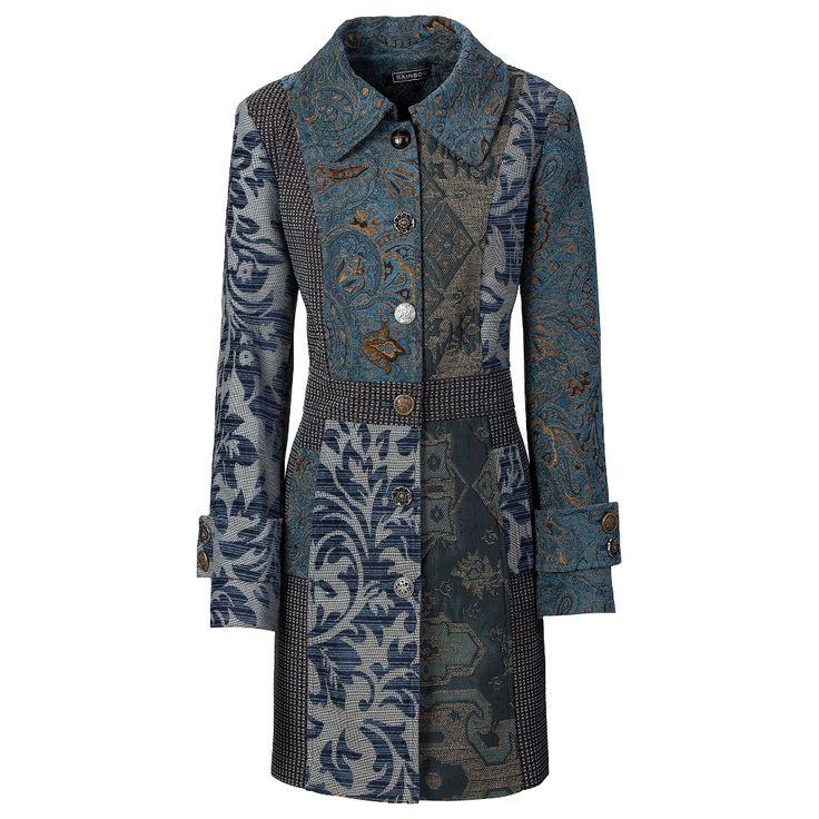 rainbow palto mavi 239 mantel kleidung entwerfen modische