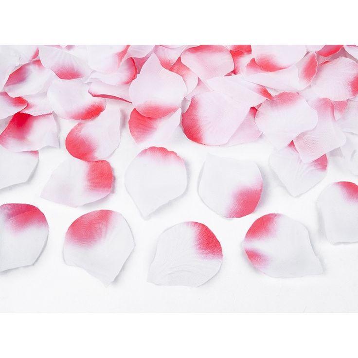 Confettikanon met roze rozenblaadjes