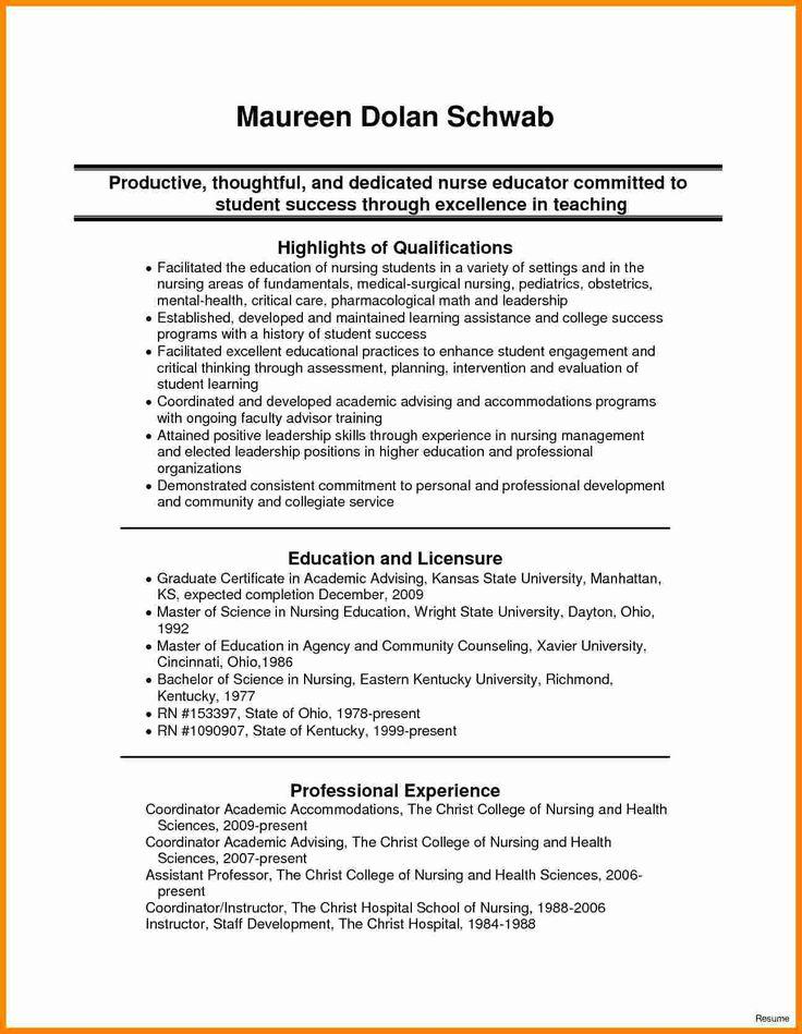 42++ Nursing student resume template free ideas in 2021
