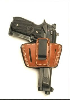 Cebeci Arms Universal Large Frame SOB and/or IWB Concealed Carry Pistol Holster for Large Frame Semi-autos including Sig, Colt 1911, Browing HP, Beretta, Ruger, Glock and S&W in Brown Leather Cebeci, http://www.amazon.com/dp/B0084PN23K/ref=cm_sw_r_pi_dp_L9qptb0FX1M3J1VH