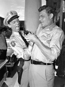 "Actor Andy Griffith, the man who played folksy Sheriff Andy Taylor in the fictional town of Mayberry, has died at the age of 86, Sheriff J.D. ""Doug"" Doughtie of Dare County, North Carolina, said Tuesday."