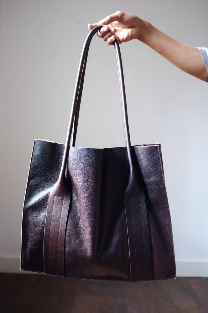 Image of Leather shoulder bag by Flanel 2