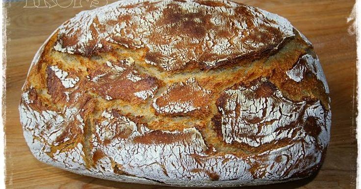 Bauernbrot im Römertopf       500 g Buttermilch   50 g Wasser   ½ Würfel Hefe   1 Tüte Trockensauerteig (15g Inhalt)  oder 75 g sel...